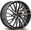 Y-697 SATIN-BLACK-W-MACHINED-FACE-AND-TINTED-CLEAR